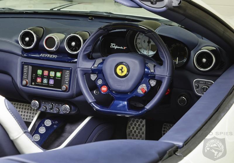 Is This The Future Of Supercar Interiors Ferrari Introduces All