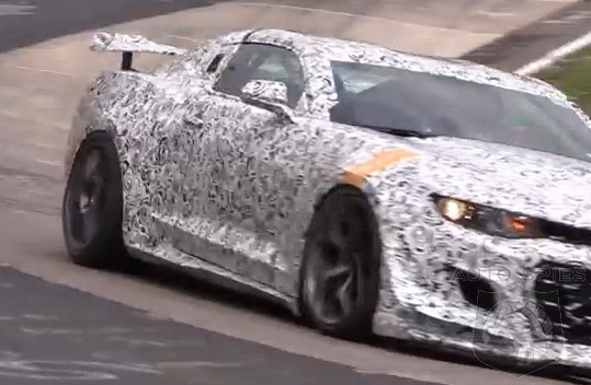 SPIED   VIDEO: The Next-Gen Chevrolet Camaro Z/28 Comes Back For Testing And It Sounds...SWEET! - AutoSpies Auto News