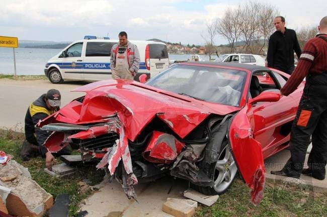 00R\'s Favorite Ferrari Goes Head-To-Head With A Wall, And Loses ...