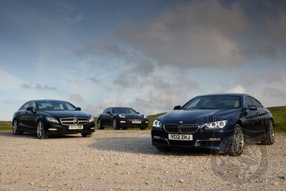 Diesel 4 Dr Coupe Shakedown Bmw 6 Series Gran Coupe Vs Mercedes