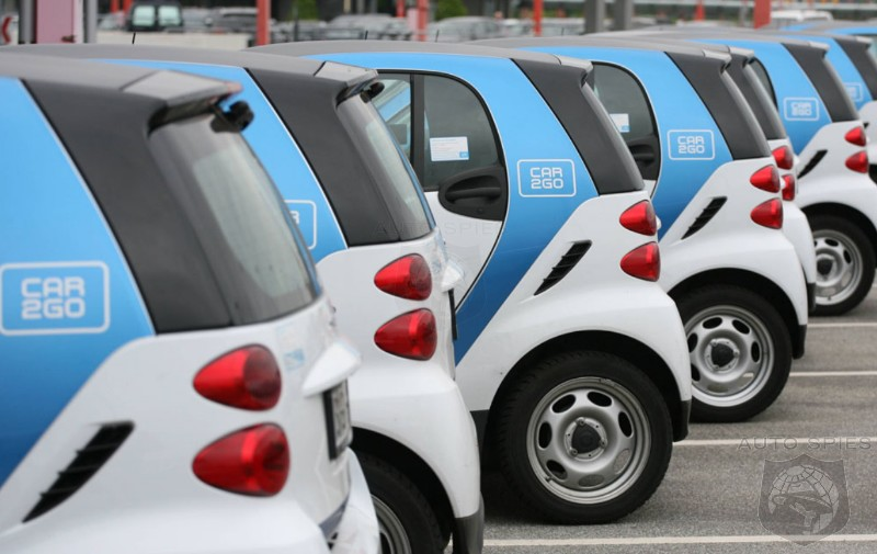 Have Car Sharing Programs Gone Extinct As Ride Sharing Apps Have Matured Gain Critical Mass