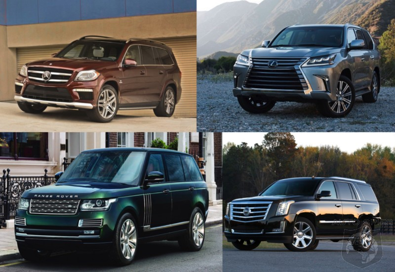 Car Wars Which Full Size Luxury Suv Takes The Cake Lexus Lx570 Vs