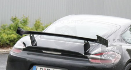 SPIED + NEW Details: The Porsche Cayman GT4 **MAY** Be The Cayman That ERASES The 911 From Being The Top Dog
