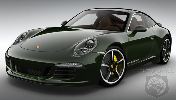 Porsche Unveils Its FIRST Special Edition For The All-New 911