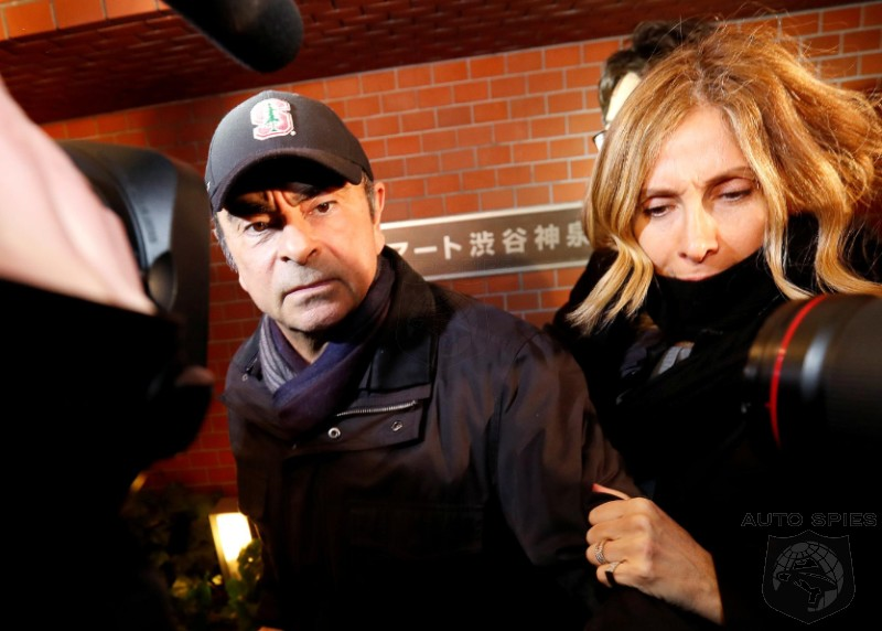 Ex-Nissan Chief's Wife To BEG French Government To Help Her Husband, Carlos Ghosn