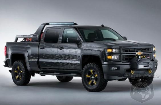 Is General Motors Preparing A Ford F 150 Raptor And Ram