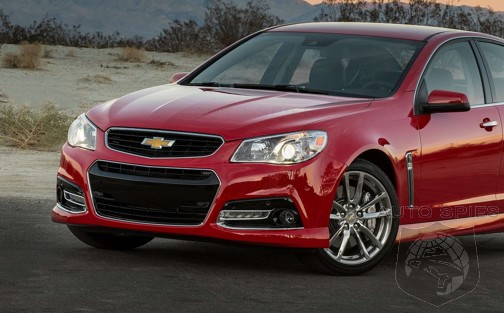 SPIED: Dealer Order Guide Reveals ALL About The 2015 Chevrolet SS — YOU WILL Like The Changes