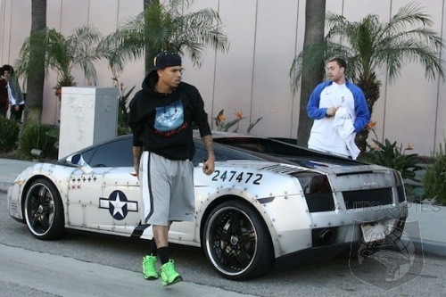Rapper Chris Brown May Be Heading To Court AGAIN, This Time Over Parking Spaces