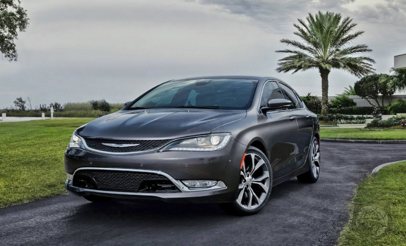 DETROIT AUTO SHOW: EVERYTHING You Want To Know About The 2015 Chrysler 200