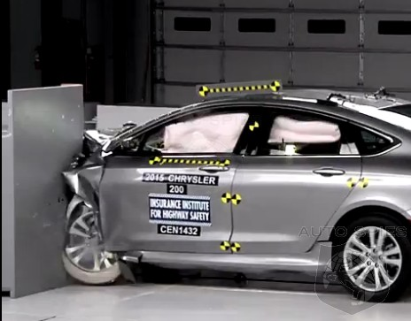Chrysler's All-New 200 Sedan Earns TOP SAFETY Pick + Honors — Does THIS Change Anything?