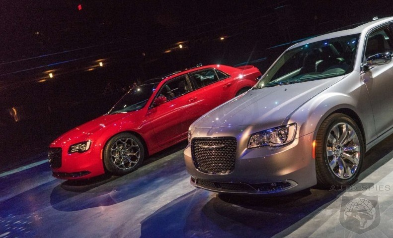 SPIED ON THE STREET FIRST Pics Of The 2015 Chrysler 300 Snapped In The WILD