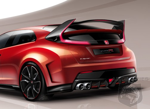VIDEO: So, What Does The HONDA Crowd Think Of The All-New Civic Type R Concept?