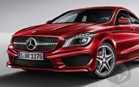 DETAILS, DETAILS! Mercedes-Benz's CLA Order Guide HITS The 'Net!