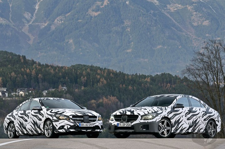SPIED: Mercedes-Benz's All-New CLA Gets Official - Official Spy Shots, That Is