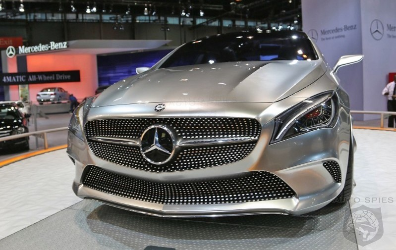 CHICAGO AUTO SHOW: From Concept To Reality — Mercedes-Benz's CLA