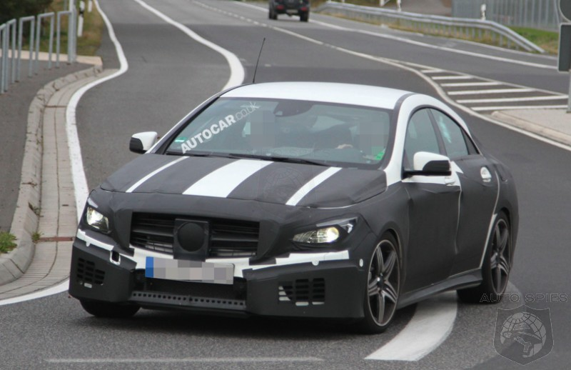 SPIED: NEW Spy Images Of The Upcoming Mercedes-Benz CLA Hit The 'Net