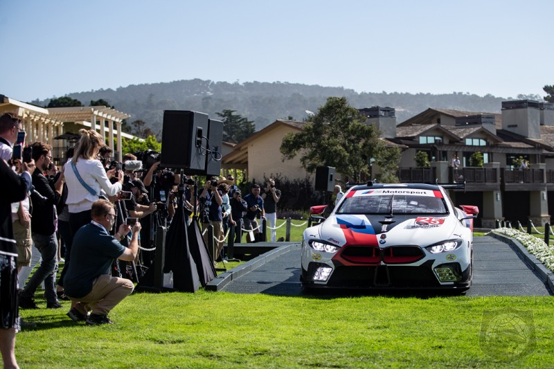 PEBBLEBEACH BMW Officially Debuts A Flurry Of All new 8 Series Models And Shows Off Its Delectable Classic Collection
