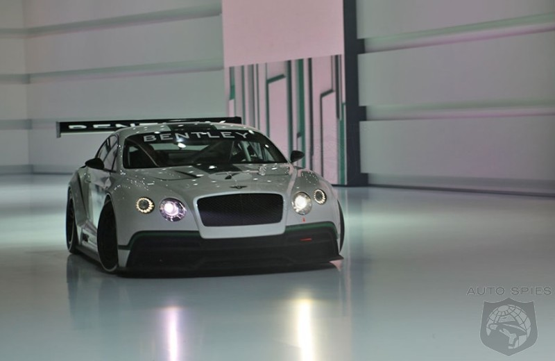 PARIS MOTOR SHOW: Bentley Is Setting Up For A RETURN Back To The TRACK!