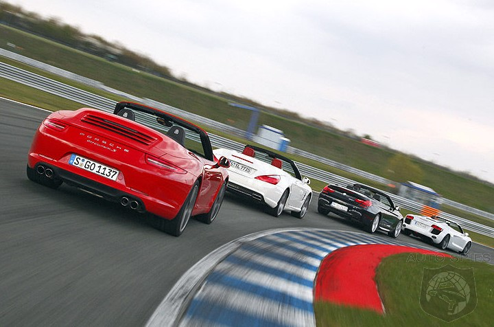 Summer SHOOTOUT: Audi R8 Spyder vs. BMW 650i vs. Mercedes-Benz SL vs. Porsche 911 - WHICH Would YOU Get For $100K?