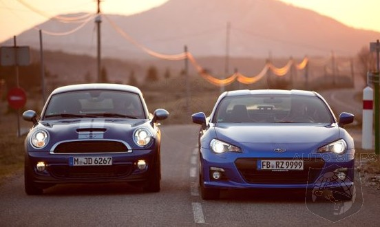 CAR WARS! Unexpected Rivals Or The Perfect Match Up? MINI Cooper Coupe vs. Subaru BRZ