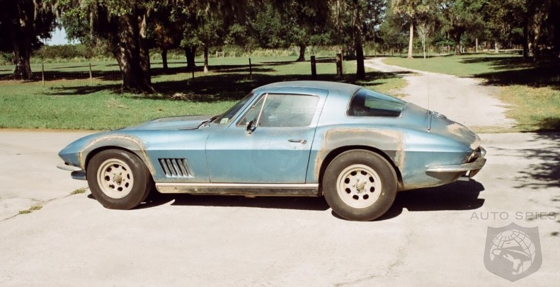 AWESOME or AWFUL: Neil Armstrong's 1967 Chevrolet Corvette Up For Grabs  But Is Something Fishy Here?