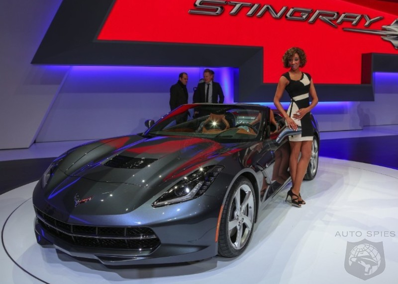 GENEVA MOTOR SHOW: FIRST Real-Life Pics Of The 2014 Chevrolet Corvette Convertible