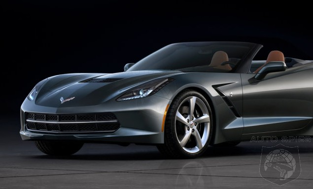 GENEVA MOTOR SHOW: UNLEASHED — THESE Are The FIRST Photos Of The All-New Chevrolet Corvette Drop Top