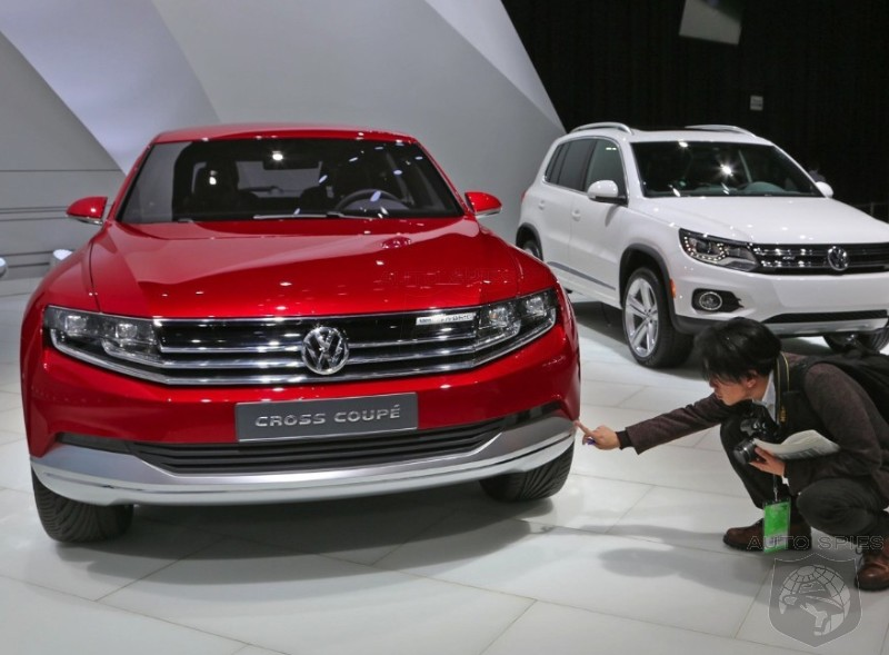 DETROIT AUTO SHOW: While Everyone Was Looking At The Volkswagen Cross Blue, I Am Still Entranced By The Cross Coupe