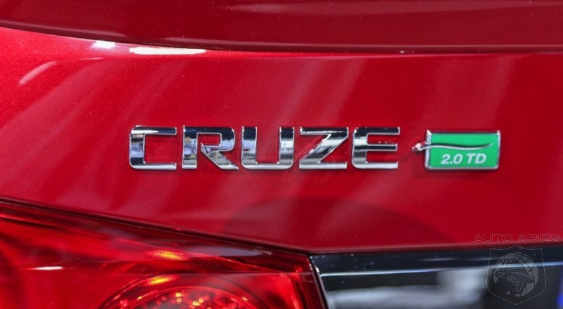 CHICAGO AUTO SHOW: Chevrolet Debuts The Cruze Diesel BUT Is $25.7K TOO Much To Charge?