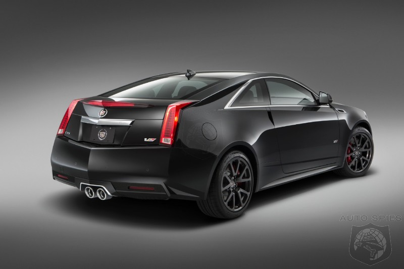 General Motors Says Goodbye To One Of The BEST American Cars EVER Made, The CTS-V