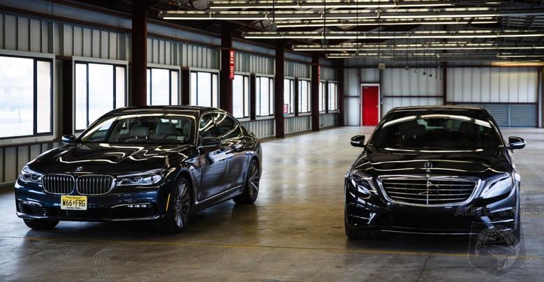 Car Wars The Biggest And Baddest Large Luxury Sedans Slug