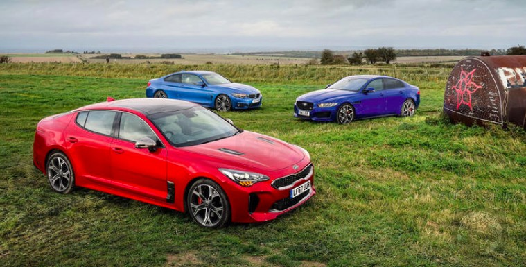 CAR WARS! Can The All-new Kia Stinger Out Drive The Likes Of Incumbents From BMW And Jaguar?