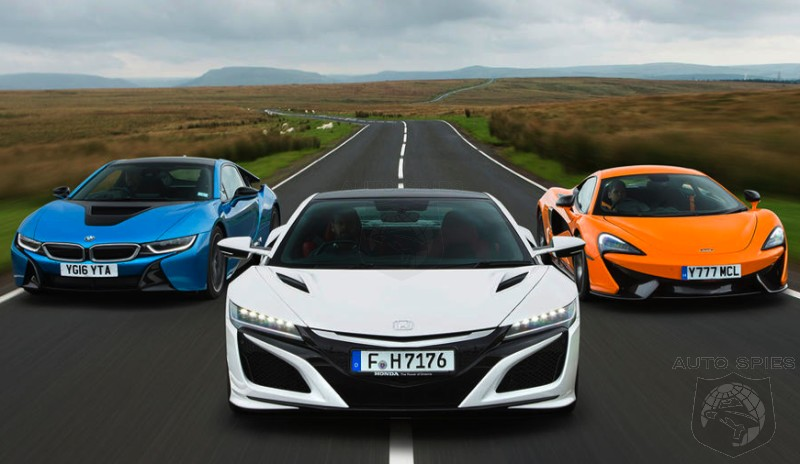 CAR WARS! Quite Possibly The BEST Supercar Test Of 2016 U2014 Acura NSX Vs. BMW  I8 Vs. McLaren 570S