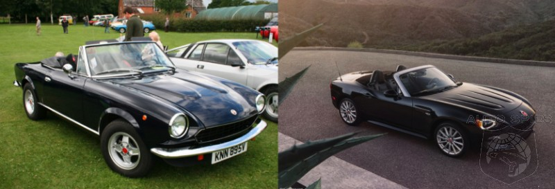 CAR WARS! Sibling Rivalry Edition U2014 Would You Rather Have A Vintage Alfa  Romeo/Fiat Spider OR The All New Fiat 124 Spider?