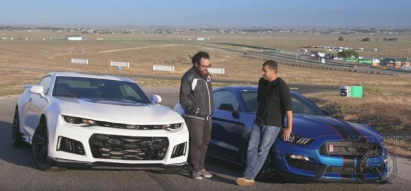 car wars muscle car showdown chevrolet camaro zl1 vs ford rh autospies com