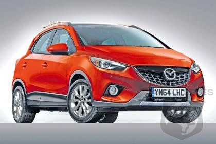 RENDERED SPECULATION: Word Suggests Mazda Is Developing A Mazda2-Based CX-3