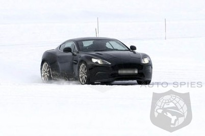 SPIED: Aston Martin's Next-Gen DB9 Replacement To Get A BEEFIER Look