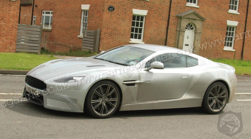 SPIED: Aston Martin's DBS Replacement SPOTTED Looking Akin To The One-77