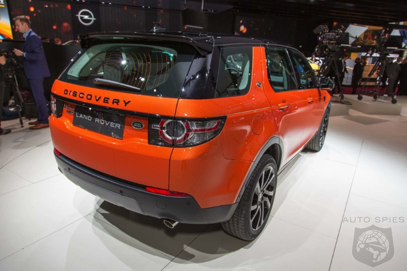 Paris Motor Show Real Life Pics Of The 2015 Land Rover