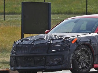 SPIED: The All-New Cadillac CTS-V's Competitor? FIRST Spy Photos Of The Dodge Charger SRT Hellcat