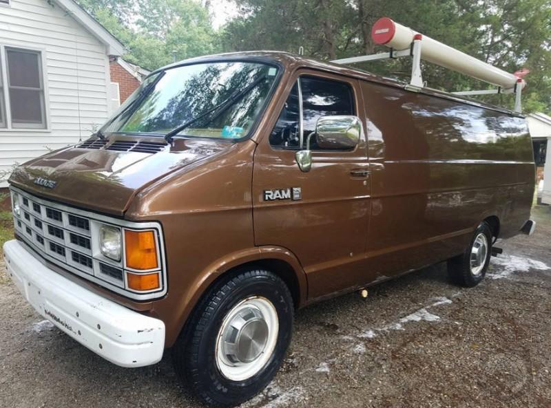 WEIRD and WONDERFUL: For Sale! 1989 Dodge RAM 350 FBI