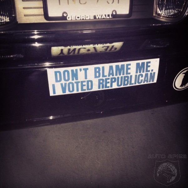 Whats the best or worst bumper sticker youve ever seen