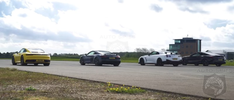 CAR WARS! Drag Race Edition: All-new Porsche 911 vs. Audi R8 vs. Nissan GT-R NISMO vs. BMW M850i