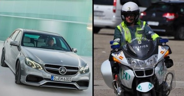 WOMPWOMP: News Mercedes-Benz Didn't Want To Hear — Spanish Police Impound Fleet Of E63 AMGs