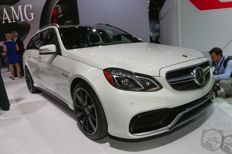 NEW YORK AUTO SHOW: Is Mercedes-Benz's E63 AMG Wagon An Old Man's Car Or An Enthusiast's DREAM?