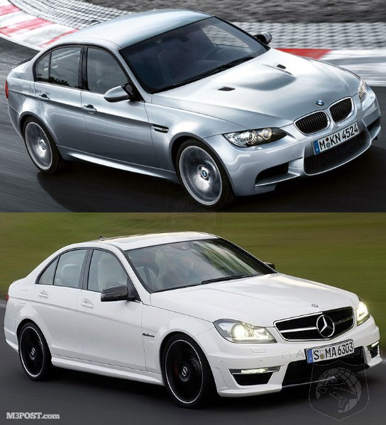 showdown 2011 bmw m3 vs 2012 mercedes benz c63 amg autospies auto news. Black Bedroom Furniture Sets. Home Design Ideas