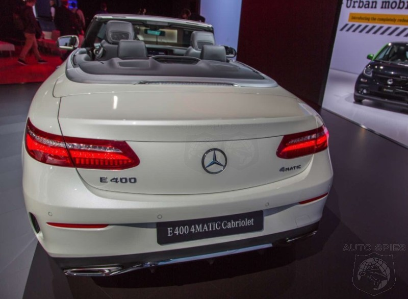 #NYIAS: The PROPER Mercedes-Benz E-Class Cabriolet Is BACK! Does It Live Up To The Classic From The 1990s?