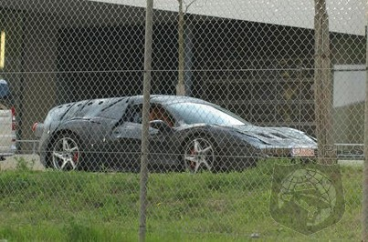 SPIED: The NEXT Ferrari Supercar Has Been Caught On Camera For The FIRST Time