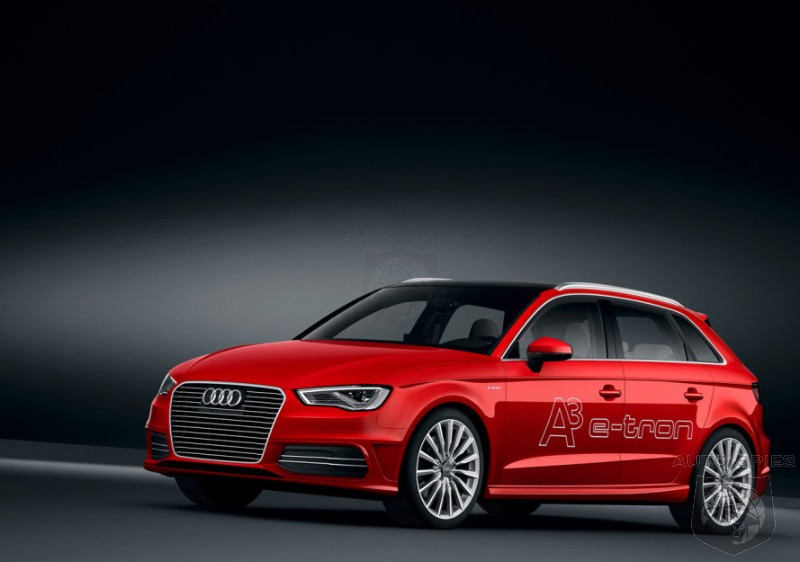 GENEVA MOTOR SHOW PREVIEW: Audi Shows Us The Goods And Gives Us The Rundown On The A3 eTron