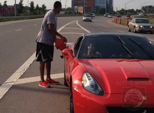 VIDEO: Note! If You Own A Ferrari, Fill It Up With Gas So You Don't Wind Up On The HARD Shoulder Like The Indiana Pacers Evan Turner